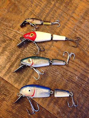 3 Vintage L&s Mirr O Lures &1 Other
