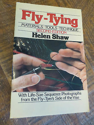 Fly-Tying Materials - Tools - Technique Second Edition by Helen Shaw