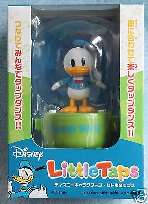 Little Taps Disney Donald Dack Figure Tap Dance Doll NRFB Music Toy
