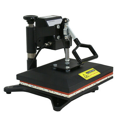 "10""x12"" Swing-away Heat Transfer Press Machine For T Shirts W/Digital LCD Timer"