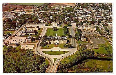 Dover Delaware Capital Buildings Complex Postcard Vintage Aerial View Unposted