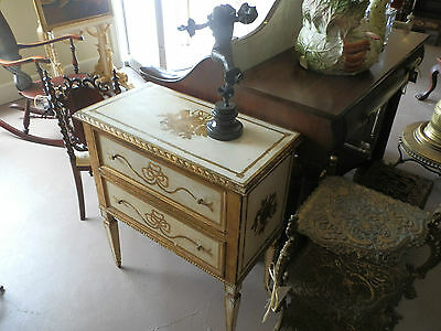 Amazing One Of A Kind Shabby Florentine 2 Drawer Chest