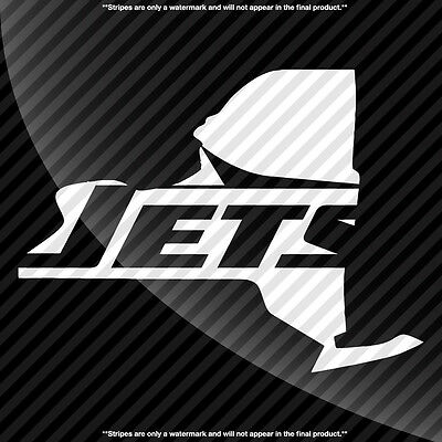New York Jets NY State Pride Decal Sticker