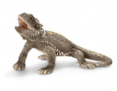 FREE SHIPPING | Schleich 14675 Pogona Lizard Bearded Dragon Toy - New in Package
