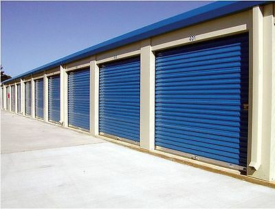8x8  DBCI 650 Series Rollup  Door with Hardware