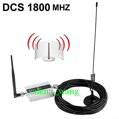 Family GSM DCS 1800 Mhz Signal Booster Repeater Amplifier Mobile Cell TELE Phone