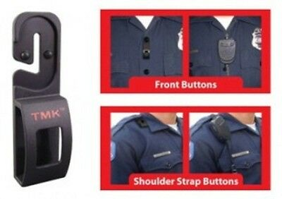 Tactical Mic Keeper - Securely Attach Most Remoted Microphones To Uniform Button