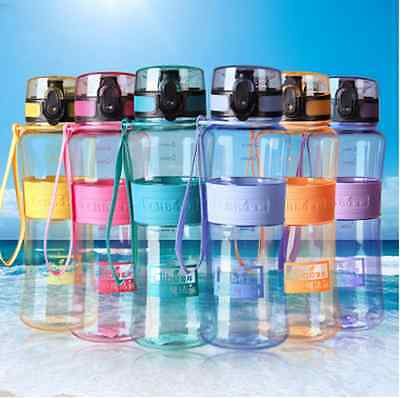 1000ml Fruit Water Infusing Infuser Bottle BPA Free Plastic Sports Detox Health