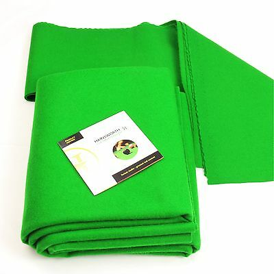 Hainsworth CLUB Bed & Cushion Set for 7ft UK Pool Table – GREEN - FREE DVD