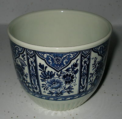"Vintage Hand Painted Bowl Made By Boch Belgium Signed On Bottom ""delfts"" With #"