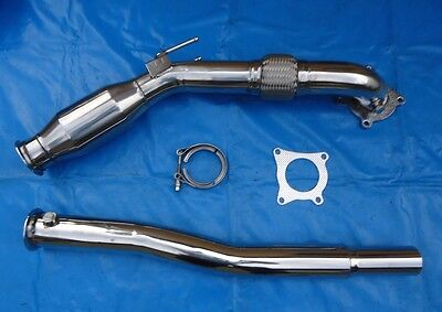 Downpipe Down Pipe VW Scirocco III 3 2.0 2,0 TSI 147 KW 3 Zoll 76 mm mit Kat