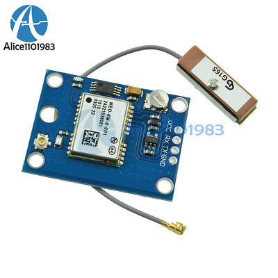 NEO-6M GPS Module with Antenna Flight Controller For Arduino MWC IMU APM2