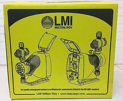 LMI Milton Roy Electronic Metering Pump drive assembly A151 , brand new