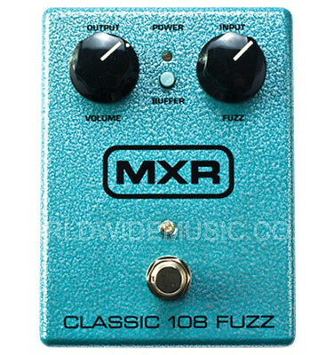 MXR M173 Classic 108 Fuzz Guitar Effects Pedal / Stomp Box