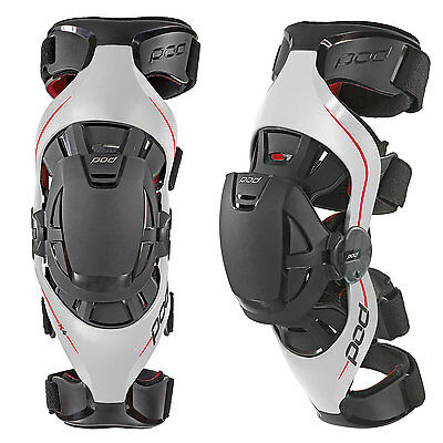 Pod K4 Knee Braces Pair + Free Bag Motocross Mx Off Road Enduro Adult New Guards