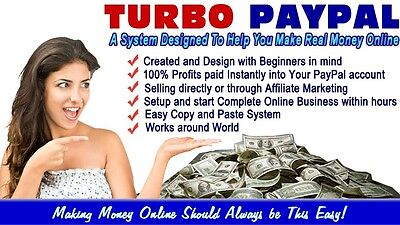 Turbo paypal 2017 system. make money online fast.