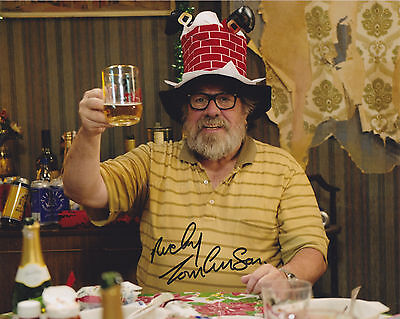 Ricky Tomlinson HAND SIGNED 8x10 Photo, Autograph The Royle Family, Mike Bassett