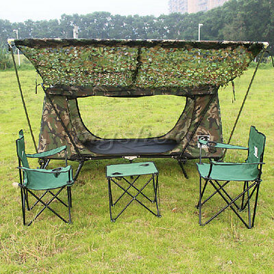 CA Camping Hiking Jungle Camouflage Woodlands Camo Net Netting Cover 1MX1M New
