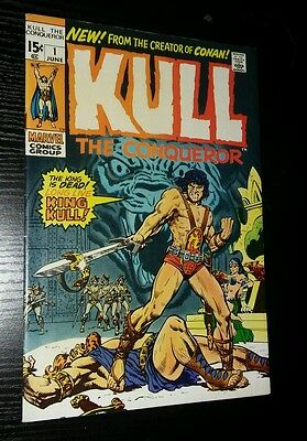 Kull the Conqueror #1 (Jun 1971, Marvel) 8.5 NICE SHARP!! C PHOTOS!