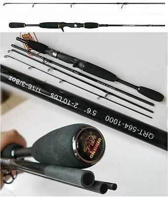 Okuma Travel Fishing Rods Lure Fishing Casting/spinning Rods Lightweight Carbon