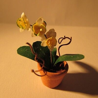 Orchid ~ Doll house miniature ~1 twelfth