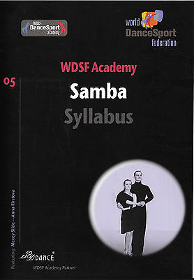 DVD – World DanceSport federation – WDSF Academy – Syllabus – Samba