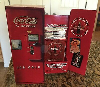 1996 Coca Cola Collector Phone (Foncard) Cards 18 pack box Score Board Sealed
