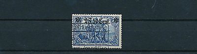 Etappe West 2 F. 50 C. Aufdruck 1916 seltene Type Michel 12 Ba Attest (S12802)