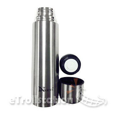 Thermos Vacuum Insulated Compact Stainless Steel Hot Cold Beverage Bottle 16oz