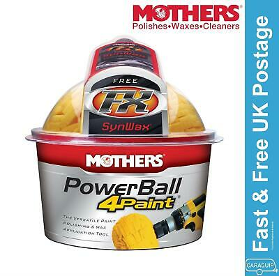 Mothers Power Drill Powerball 4 Car Paintwork **USE WITH HOME POWER DRILL**