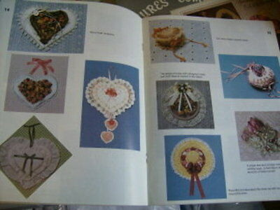 Ribbons, Roses & Ruffles Craft Book -21 Victorian Projects-Hearts/Baskets