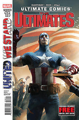 ULTIMATE COMICS THE ULTIMATES 16 BRAND NEW COPY 1st PRINT