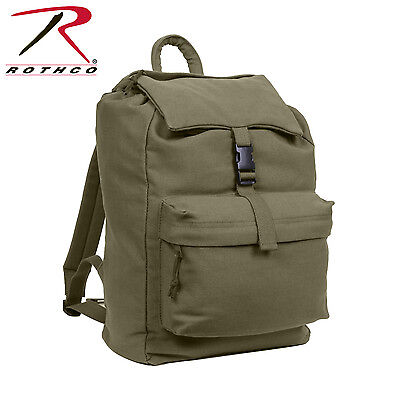 2169 / 2670 / 2369 / 2370 Rothco Canvas Daypack