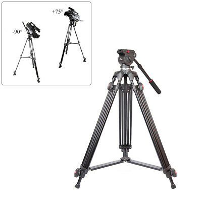 "Andoer Professional 67"" Video Tripod Stand with Fluid Ball Head for DSLR Cameras"