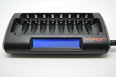 Vapextech Super Smart nimh Battery Charger 8 cell AA or AAA