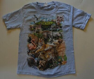 The Mountain THE ZOO T-Shirt Youth Boy Girl Child Sizes New