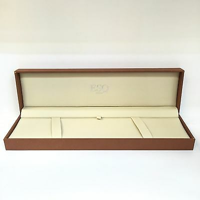 New Original ESQ BY MOVADO SWISS WATCH BOX Jewelry Storage presentation Case