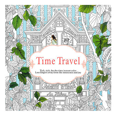 Time Travel Parent-child Graffiti Book Children Coloring Paint Inky Exploration