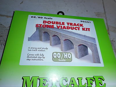 Metcalfe Oo Scale Cardboard Building Po 241 Double Track Viaduct