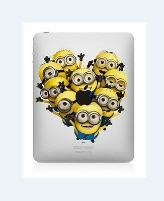 Despicable Me iPad Air Vinyl Sticker Skin Decal Back Cover