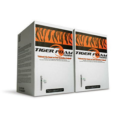 Tiger Foam 600bd/ft Closed Cell E-84 Spray Foam Insulation Kit - FREE SHIPPING