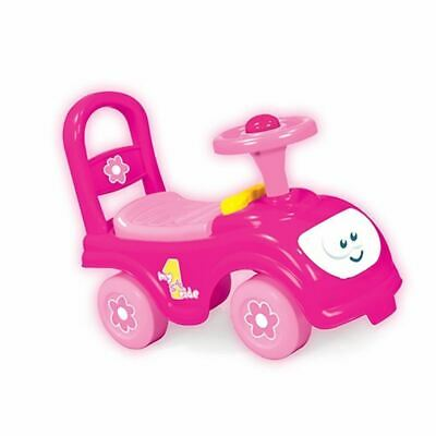 Childrens Kids Infants Girls My First Pink Ride On Push Along Car Vehicle