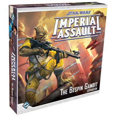 STAR WARS IMPERIAL ASSAULT BESPIN GAMBIT Board Game