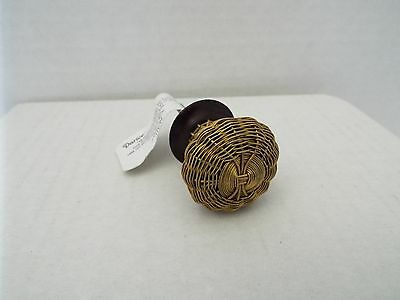 Heritage Hardware Metal Knob-Wire