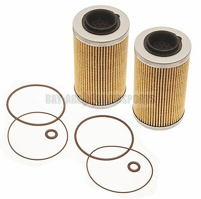 Sea Doo 4-Tec Oil Filter & O-Ring Kit Twin Pack All 130 155 185 215 255 260 HP