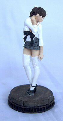 1/24 1/25 or G Scale Resin Model Kit, Sexy action figure Gina the School Girl