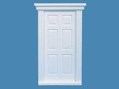 24th Scale Opening Front Door, Dolls House Miniatures, Fixtures & Fittings,