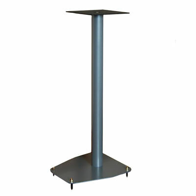 "Apollo A1-600 Speaker Stands (2 Coat Silver 24"" Pair)"