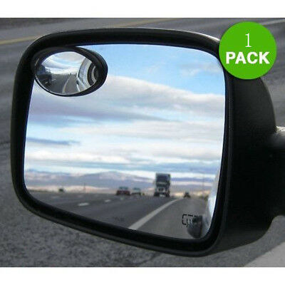 Oval Shaped Car Mirror Side View Blind Spot & Wide Mirror for Car Vision