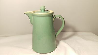 Denby Manor Green Coffee / Syrup / Hot Water Pitcher Pot 2PT Capacity